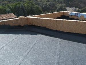 Impermeabilizaciones en barcelona abrera construcci n - Tela asfaltica pizarra ...