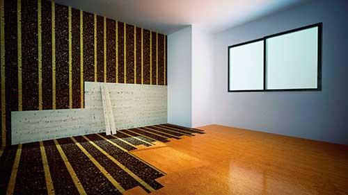 C mo ahorrar aislando bien tu hogar del calor del fr o y - Aislantes acusticos para paredes ...