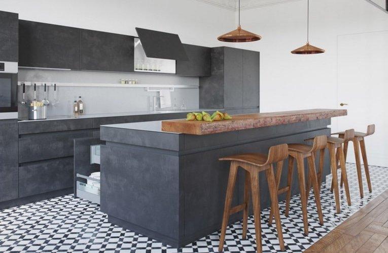 barra bar-cocina-barcelona | Construcción de viviendas y ...