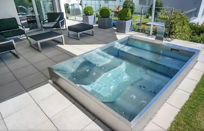 Construcci n de piscinas en espacios reducidos for Piscinas modelos formas
